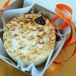 Almond Marzipan Cheesecake by Trees Organic