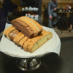 Biscottis at Trees Organic Coffee & Roasting House