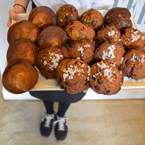 Fresh Baked Muffins from Trees Organic