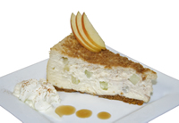 Apple Crumble Cheesecake from Trees Organic