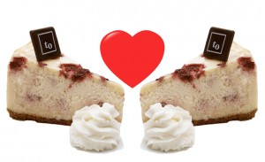 Fall in love with cheesecake