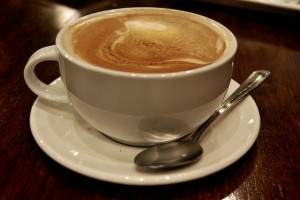 Great-tasting organic coffee at all Trees Organic cafes
