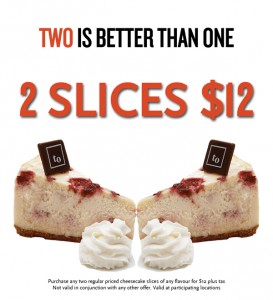 2 slices for $12