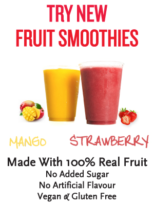 Real Fruit Smoothies from Trees Organic!
