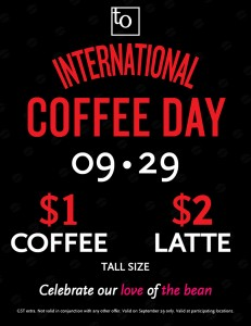 International Coffee Day in Vancouver