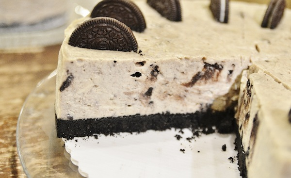 Trees Oreo Cheesecake