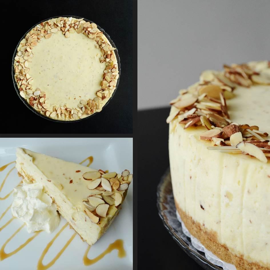 Almond Marizpan Cheesecake 2015 Trees Organic