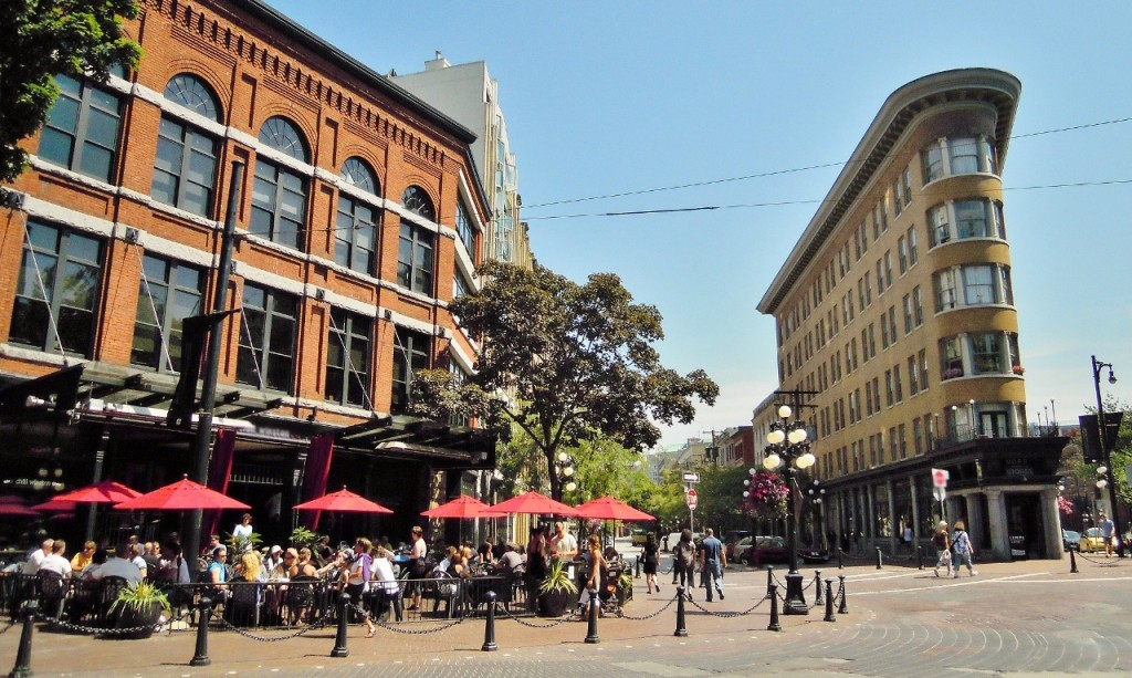 Gastown Vancouver - Trees Organic Coffeehouse