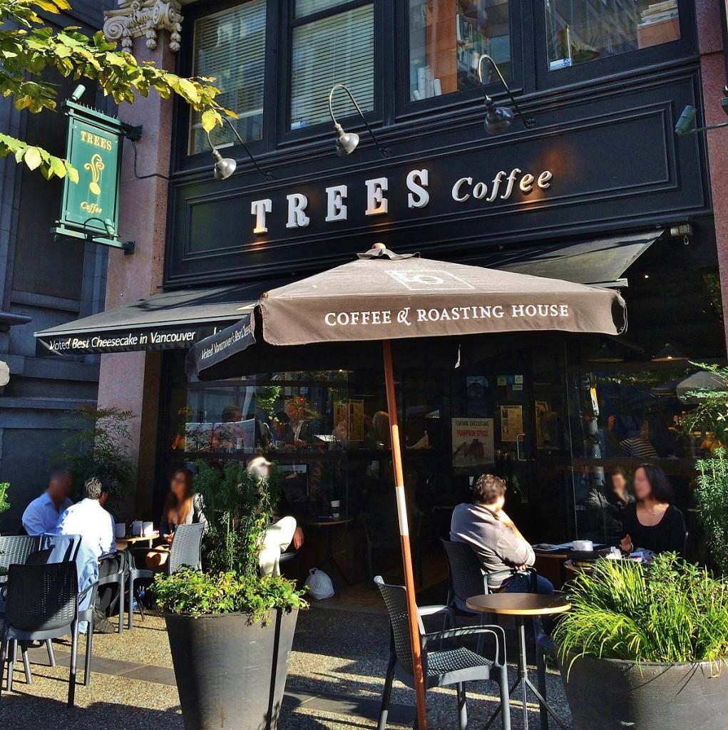 Trees Organic Coffee Granville Street Vancouver