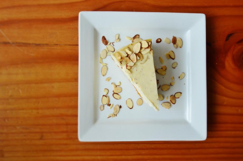Almond Marzipan Cheesecake Trees Organic