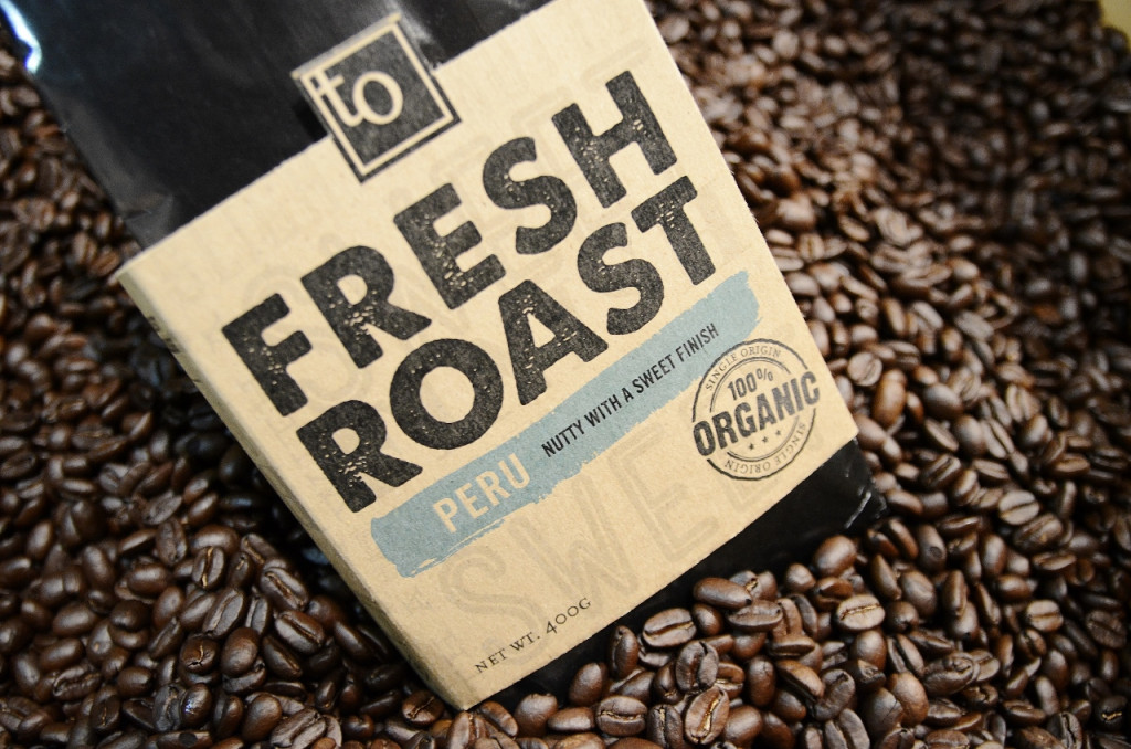Freshly roasted Peruvian Coffee from Trees Organic Vancouver