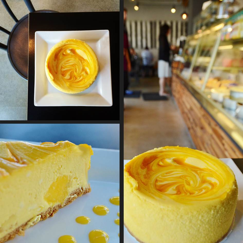 Mango Splash Cheesecake from Treescoffee.com