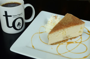 Apple Crumble Cheesecake by Trees Organic Coffee & Roasting House - Vancouver