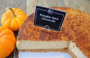 Pumpkin Spice Cheesecake by Trees Organic