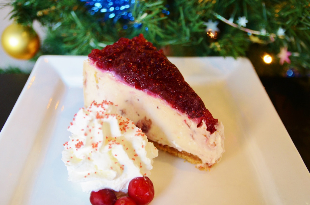 Cranberry Orange Cheesecake by Trees Organic