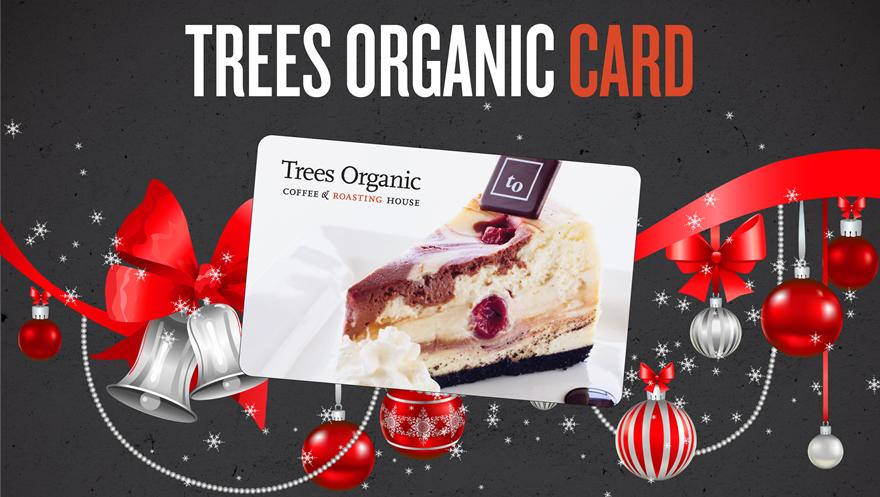 Trees Organic Gift Card - Xmas