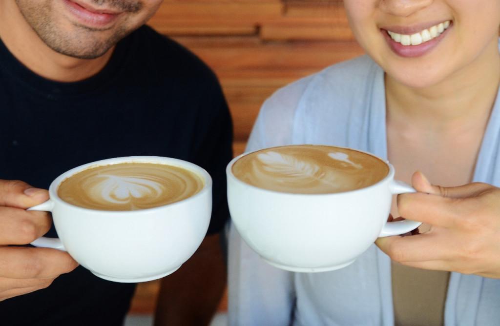 Espresso Drinks at Trees Organic Coffee