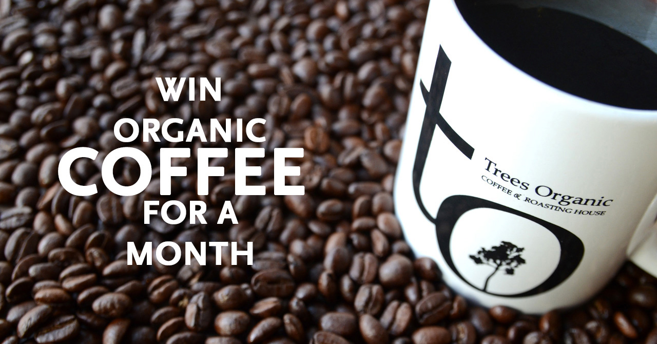 Win Organic Coffee For A Month