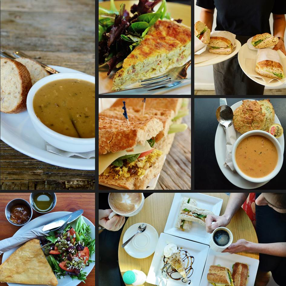 Lunches at Trees Organic Coffee & Roasting House