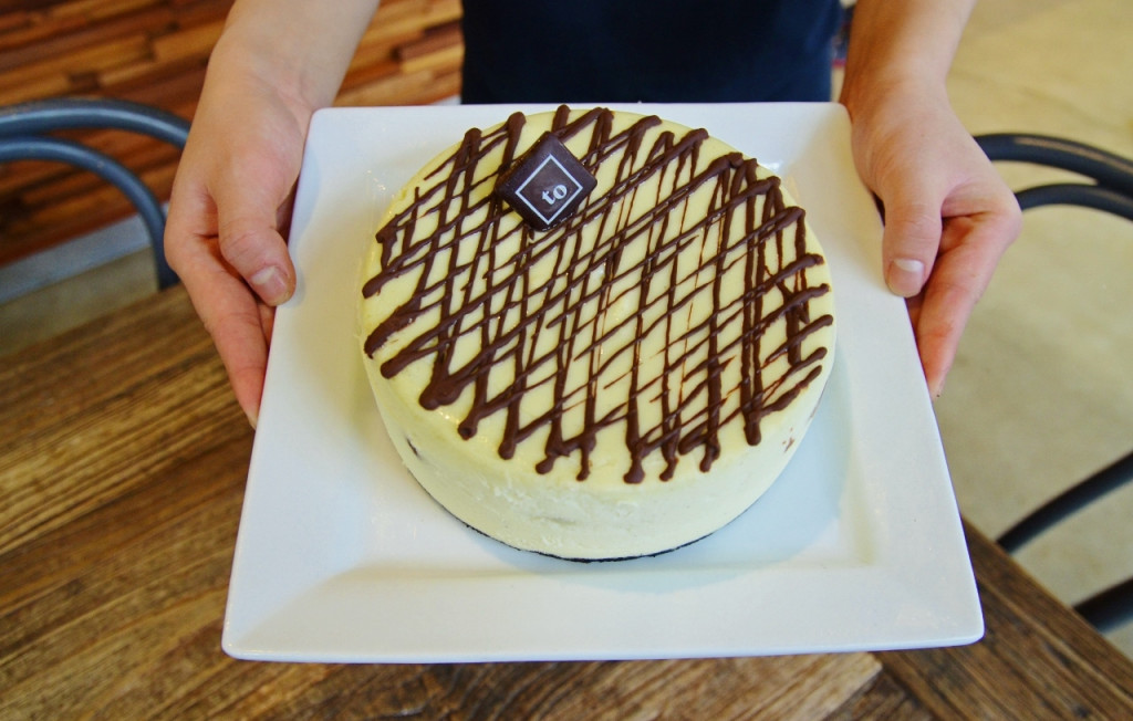 Mint Chocolate Chunk Cheesecake - Trees Organic 0650KM