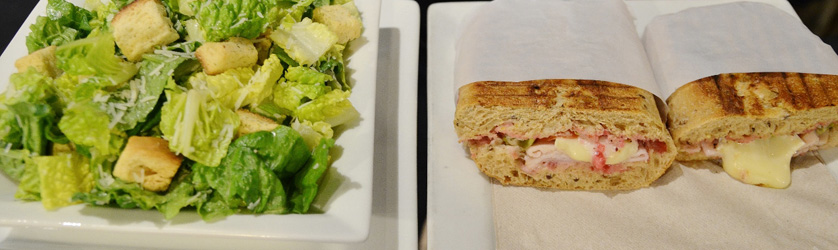 Sandwich and Salad - Trees Organic