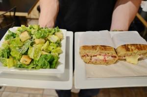 Sandwich and Salad - Trees Organic