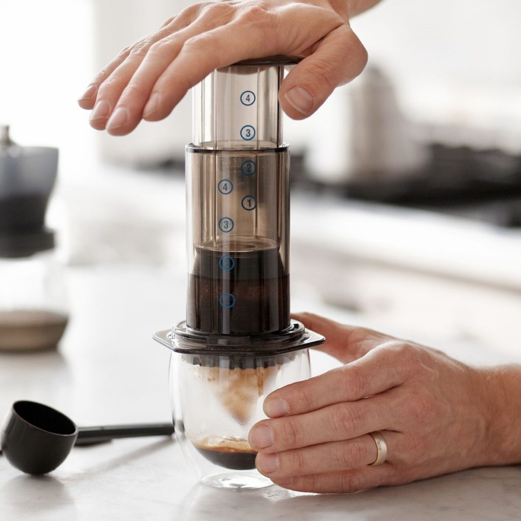 AeroPress Coffee Brewing