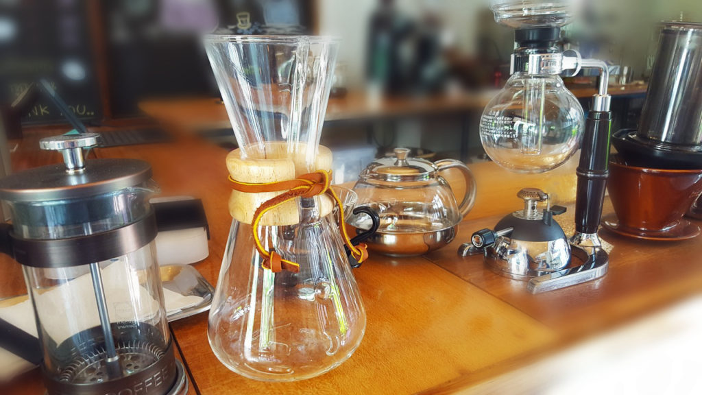 Manual Coffee Brewing Methods