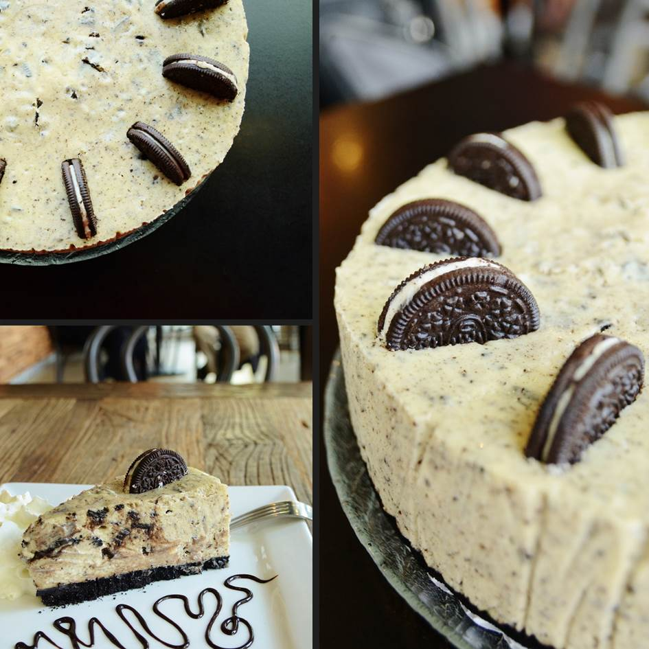 Oreo Cheesecake - Trees Organic Coffee & Roasting House
