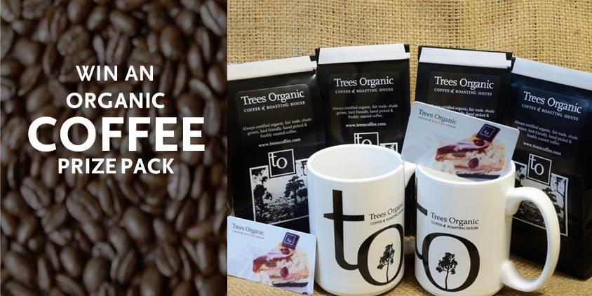 Win An Organic Coffee Prize Pack - Trees Organic Coffee