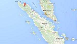Takengon Sumatra Google Map