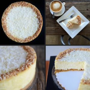 Coconut Dream Cheesecake - Trees Organic Coffee