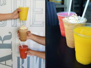 Fruit Smoothies and Cappuchillo - Trees Organic Coffee