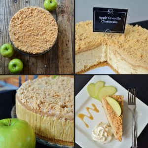Apple Crumble Cheesecake by Trees Organic Coffee & Roasting House
