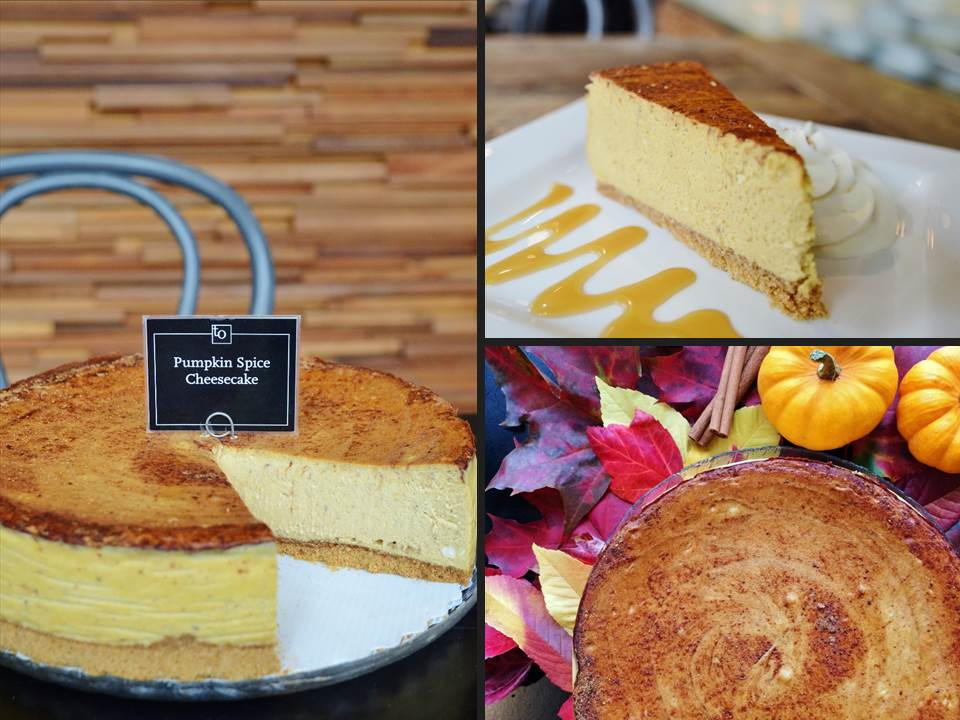 Pumpkin Spice Cheesecake by Trees Organic Coffee and Roasting House