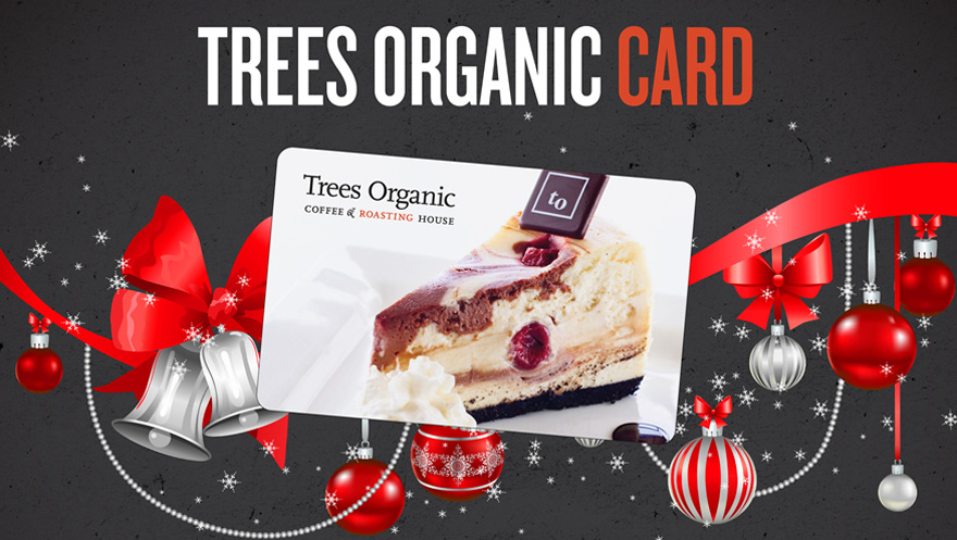 Free cheesecake slice with gift card purchase gift card trees organic coffee negle
