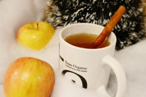 Hot Apple Cider by Trees Organic Coffee and Roasting House