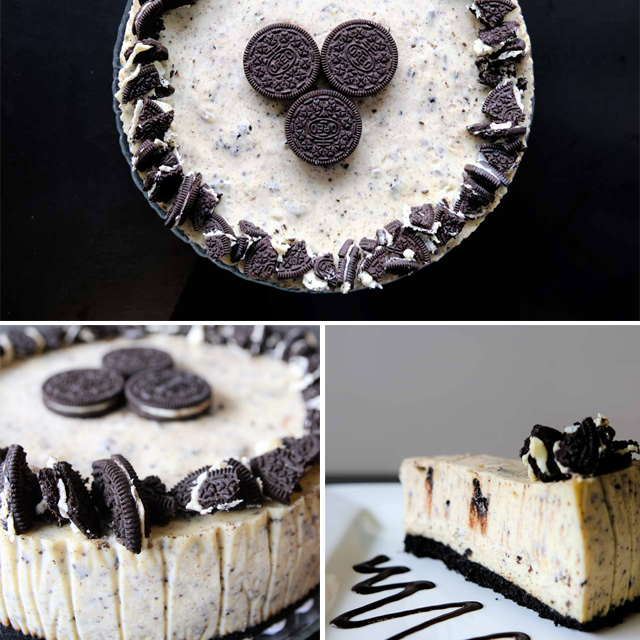 Oreo Cheesecake by Trees Organic Coffee
