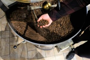Organic Coffee Roasting at Trees Organic Coffee & Roasting House