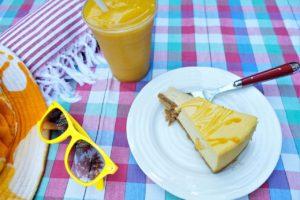 Mango Splash Cheesecake - Trees Organic
