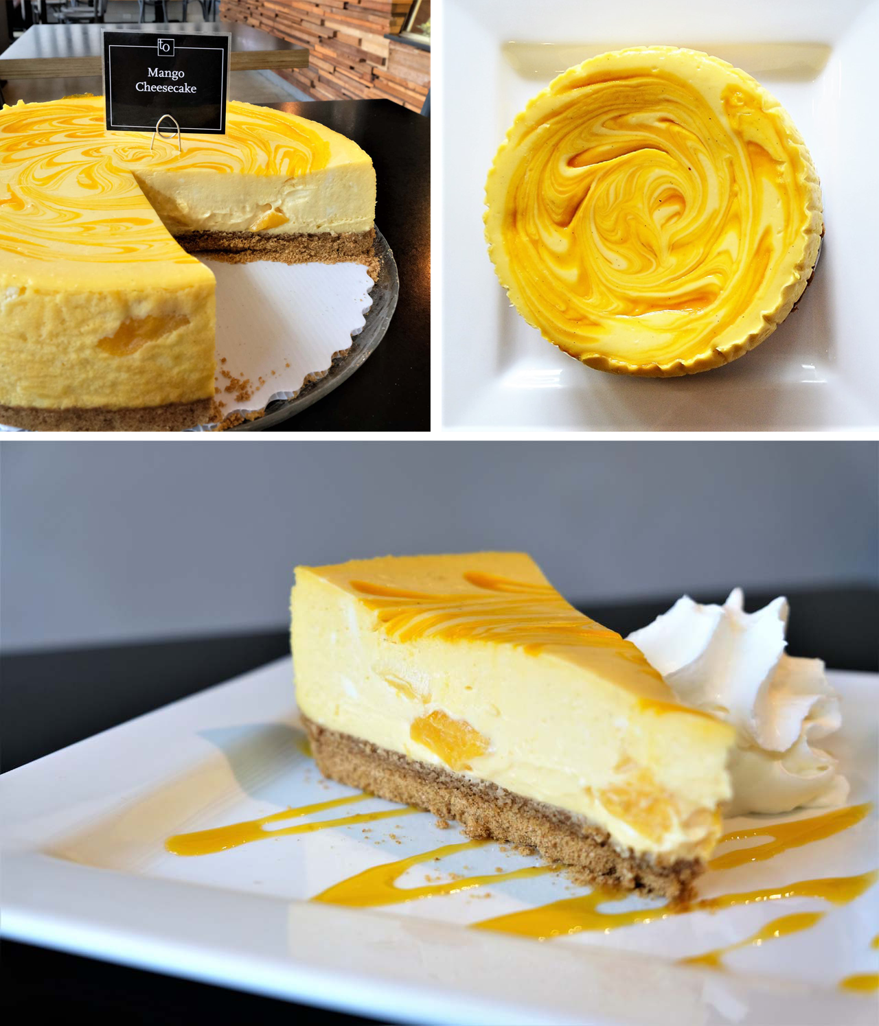 Mango Splash Cheesecake - Trees Organic Coffee