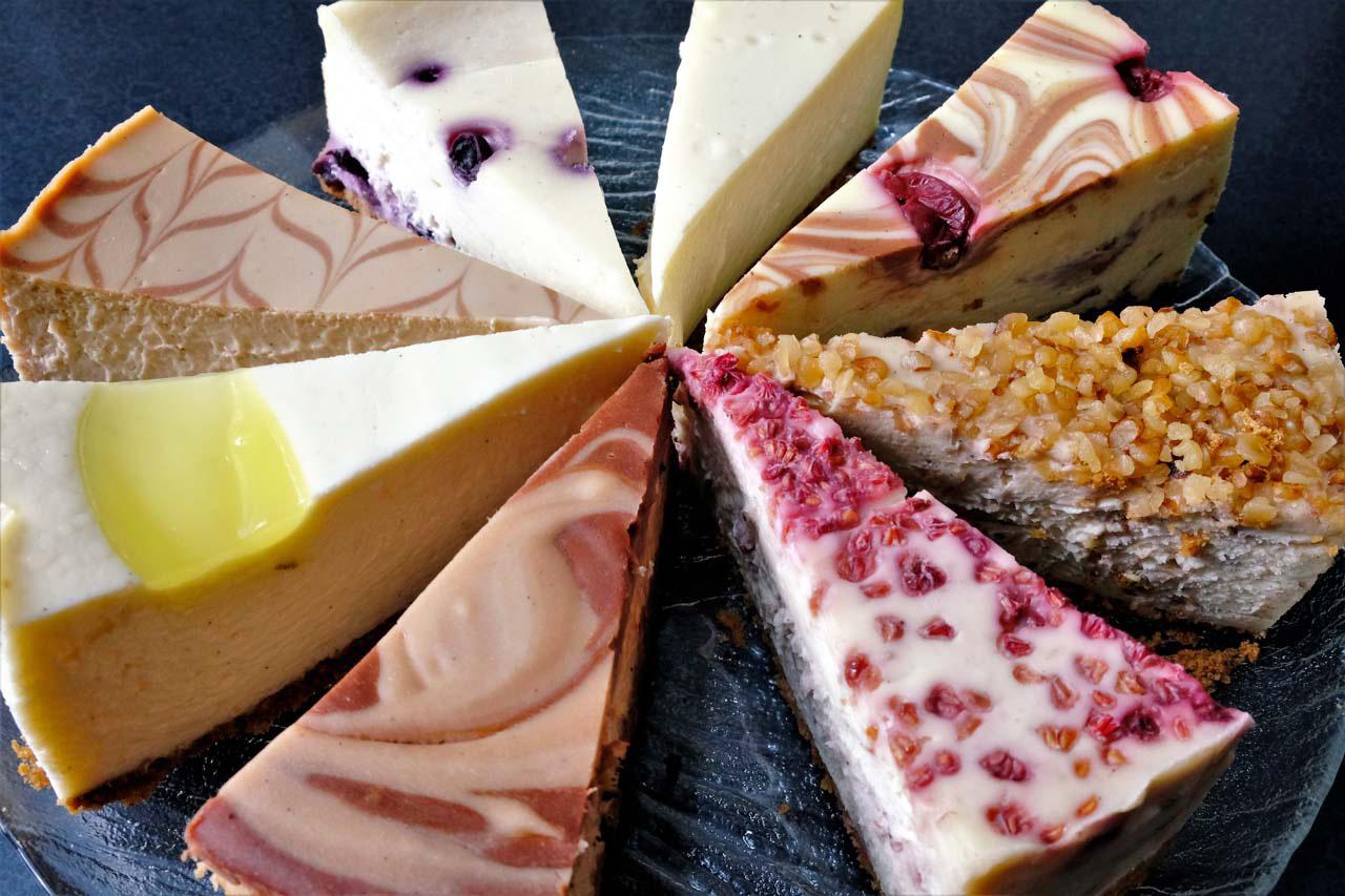 8 Cheesecakes - Trees Organic Coffee