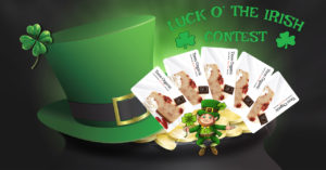Luck O Irish 2018 Contest