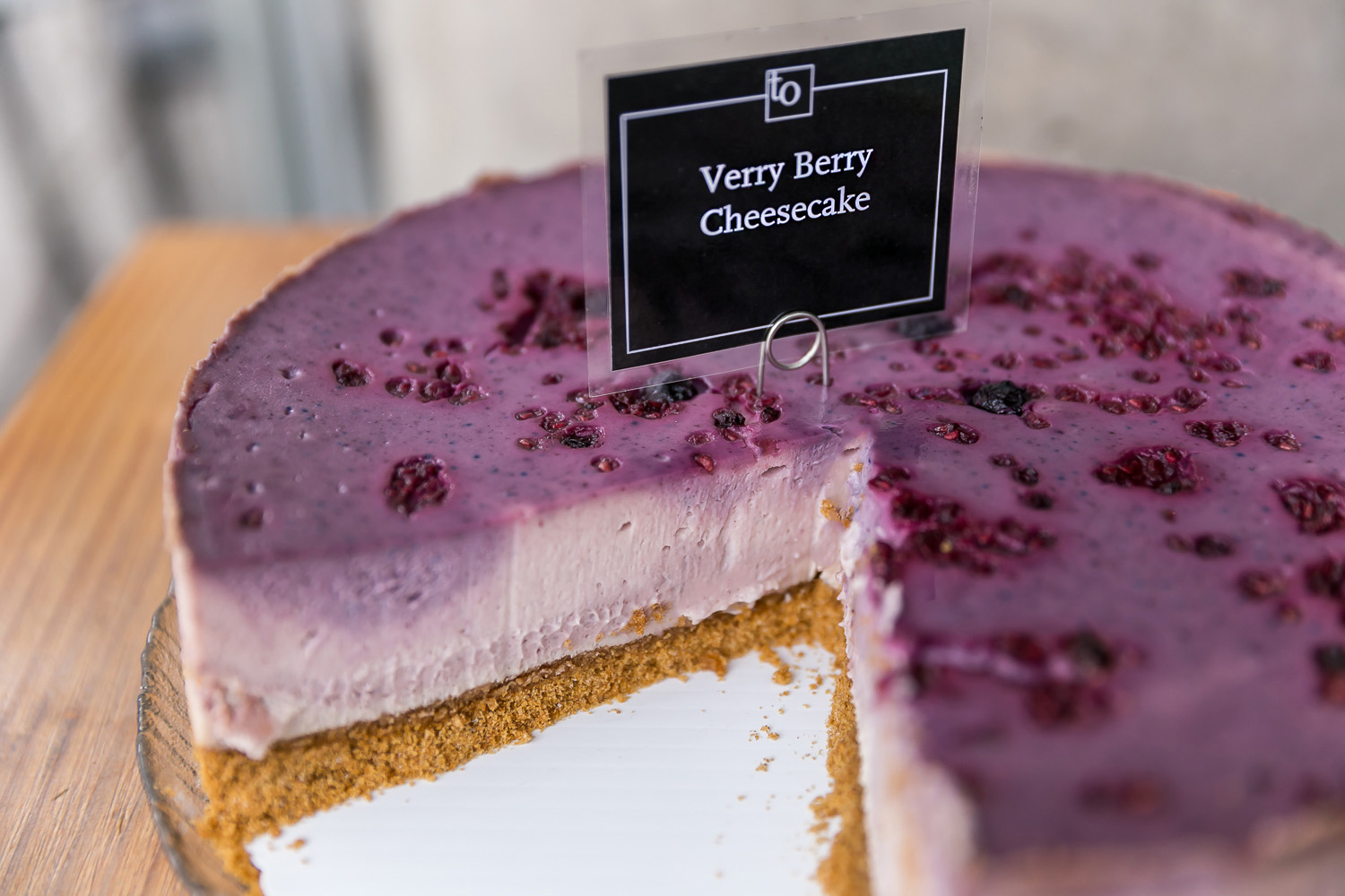 Verry Berry Cheesecake - Trees Organic Coffee