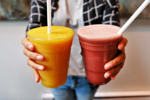 Fruit Smoothies by Trees Organic Coffee