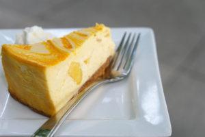 Mango Splash Cheesecake - Trees Organic Coffee