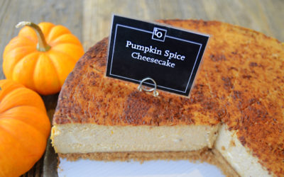 Pumpkin Spice Cheesecake by Trees Organic