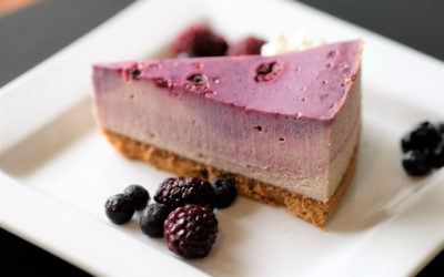 Verry Berry Cheesecake - Trees Organic Coffee 9883